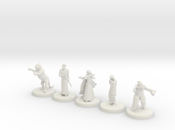 D&D Minis (Set two) 3d printed