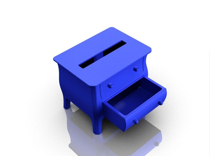 Dresser speaker for iPhone 5s 3d printed