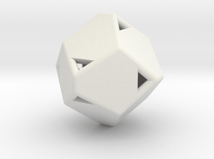 d12 pyrite2 blank 3d printed