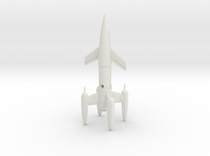 "R-Rocket ""Earth"" Class Medium 3d printed"