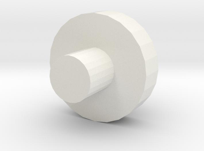Wheel_test Disc 3d printed