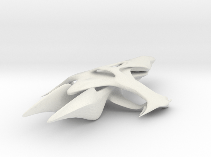 Advanced Whitestar 3d printed