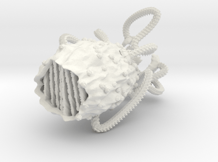 M-Ships Faction 2 Adult 1 Marble 3d printed