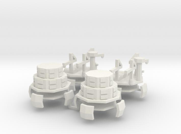 9 Air Fort 5&6 x4 3d printed