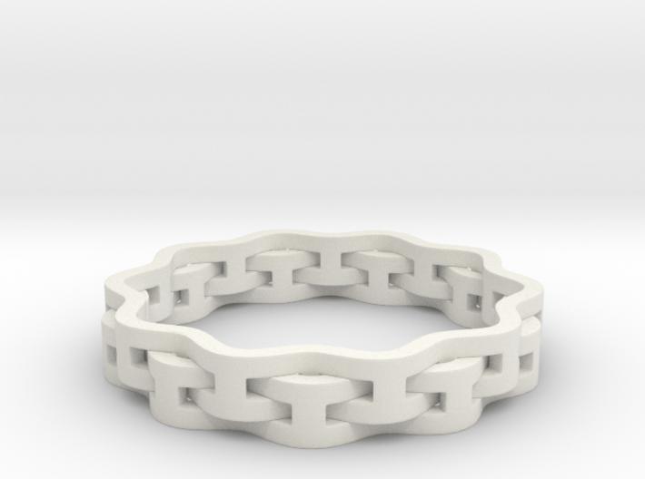 Interlaced Ring 3d printed