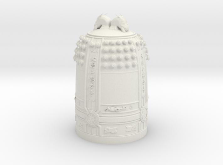Bell at RyoanJi 3d printed