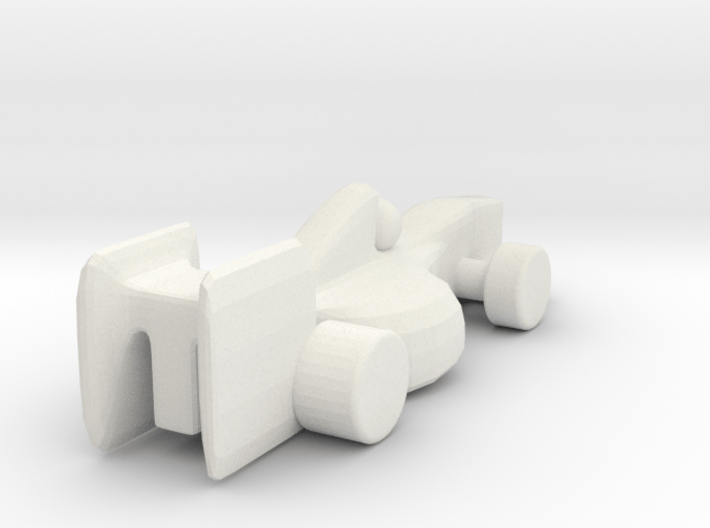 Racecar_v4 3d printed
