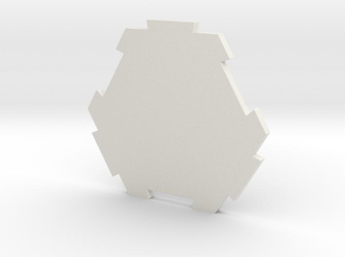 board game hexagon 3d printed