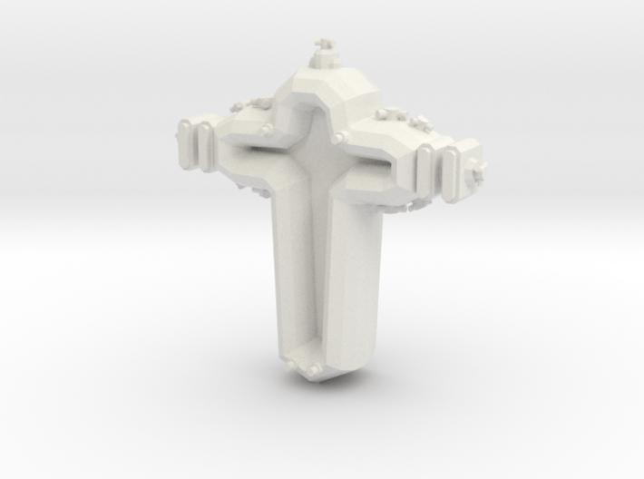 SP202 Stone Portal Escort Cruiser 3d printed