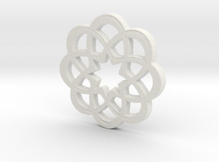 8 x Knots 3d printed