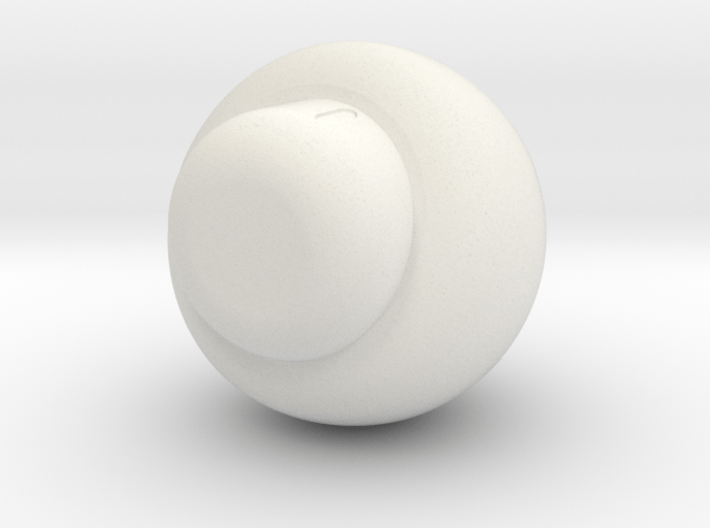 1 Up mushroom 3d printed