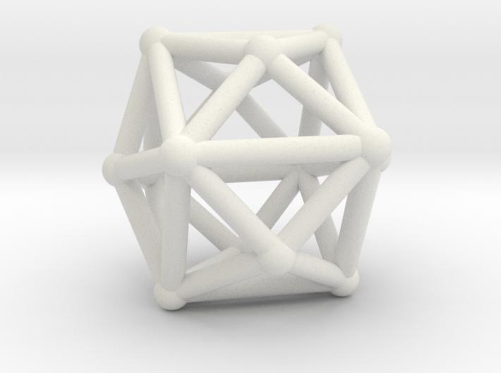 Tetrakishexahedron 3d printed