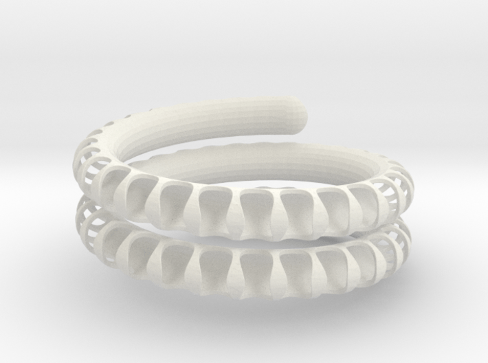 Fossil Coil lite 3d printed