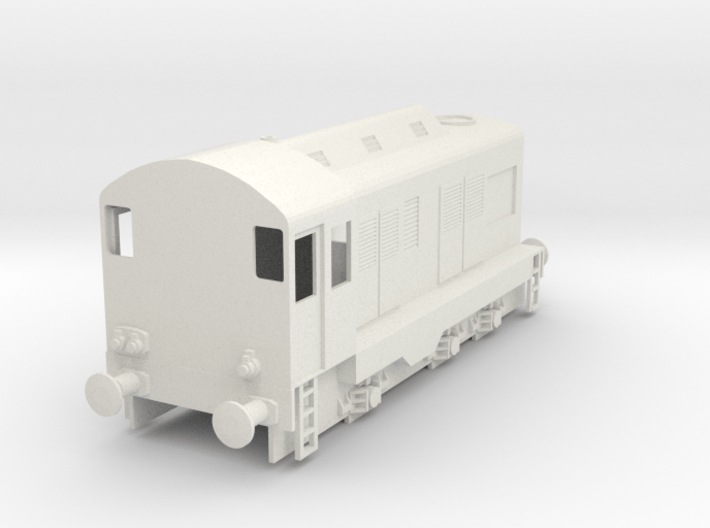 CIE E Class 401 OO Scale 3d printed