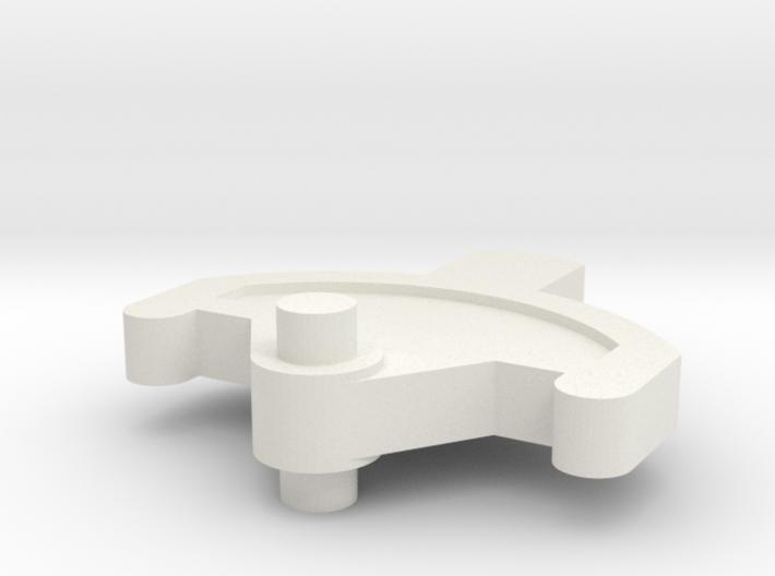 Spektrum DX6i trimmer 3d printed