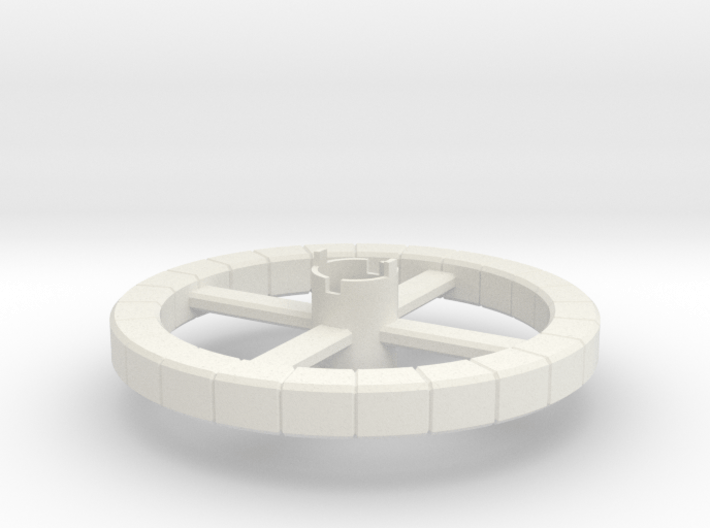 B.Y.O.S.S. Ring Square 3d printed