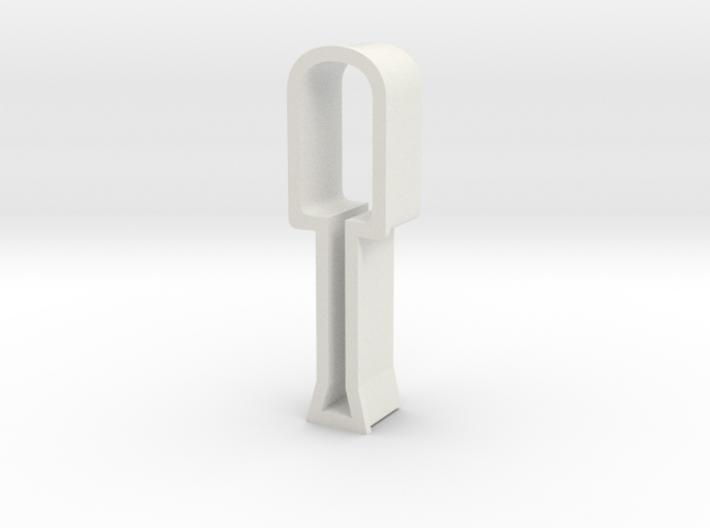 Screwdriver shaped cookie cutter 3d printed