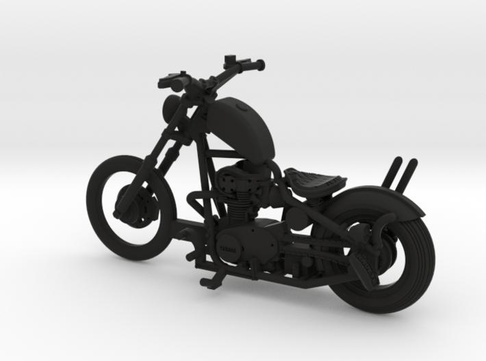1-43 Color Yamaha XS650 Custom 3d printed