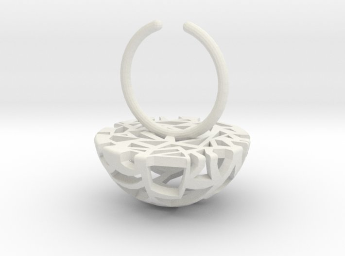 cellular dome 4 size 6 3d printed