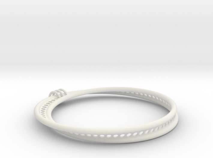 Möbius Snake Bracelet (Large) 3d printed
