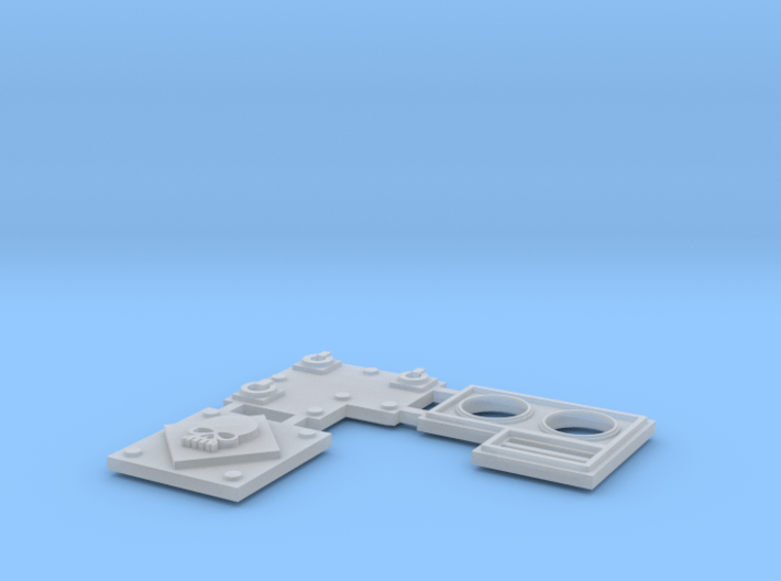 Extra Armor Plates for Walkers 3d printed