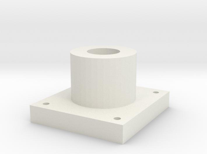 laser power meter top part 3d printed