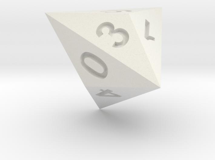 Triakis dice 3d printed