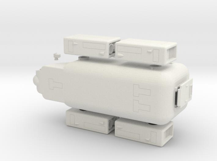 Zaad 829 LuftWagen APC 3d printed