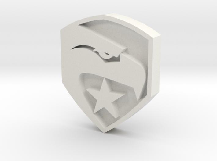 smaller gi joe button 3d printed