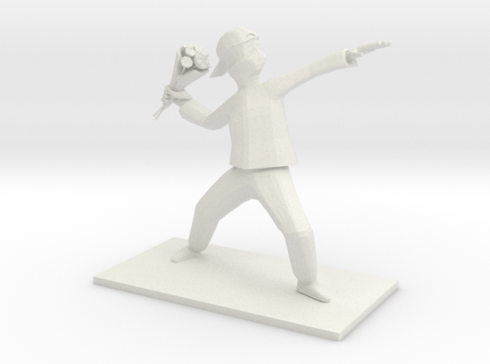 Protester 3d printed