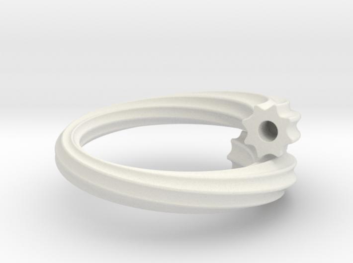 Chikuwa-bu Ring 3d printed