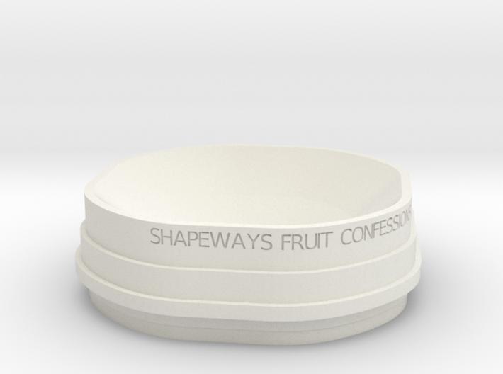 Fruit Bowl test 1 3d printed