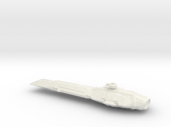 USF Battle Ship 3d printed