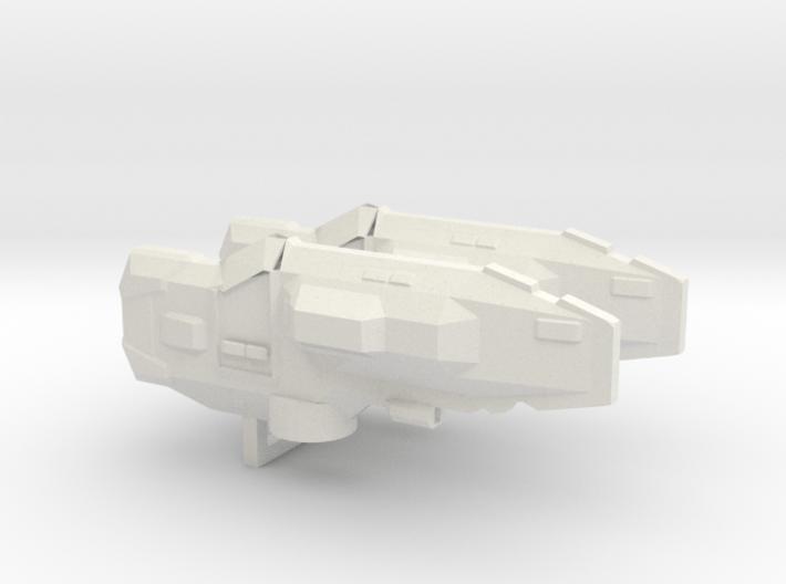 USF Frigate x 2 3d printed