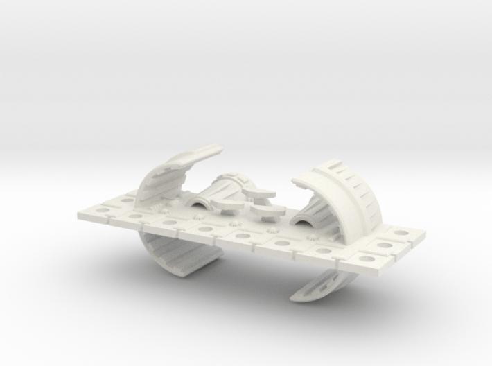 Zyphon Man-of-War Class Battleship 3d printed