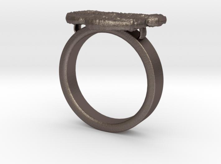 Newgrange Ring 3d printed