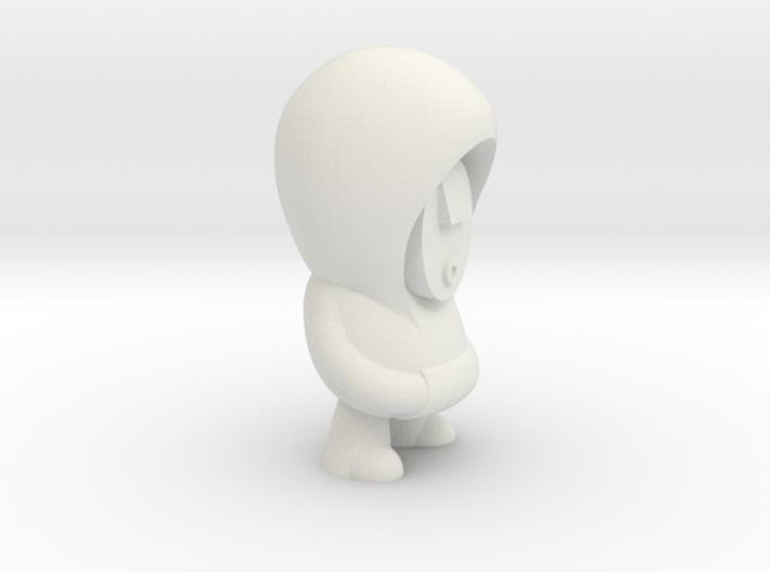 Plain Hoodie 3d printed