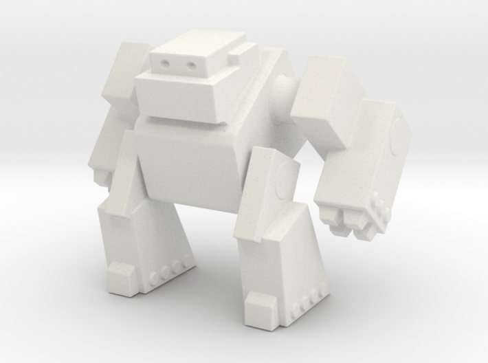 Robot 0043 Mech Bot Big Gun Arms 3d printed