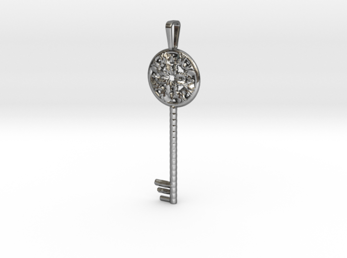 Magic key pendant 6.5cm 3d printed
