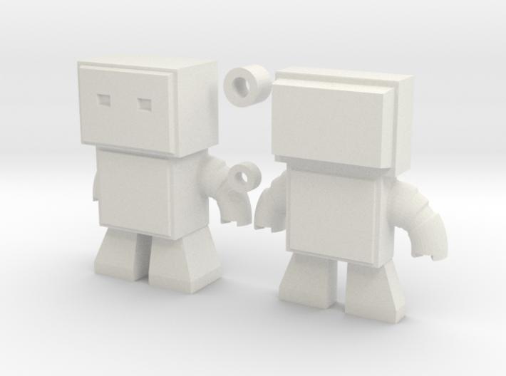 Robot Snap Mini Kit Model 3d printed