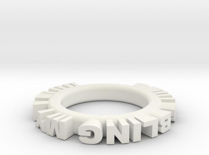 bling ring 1 3d printed