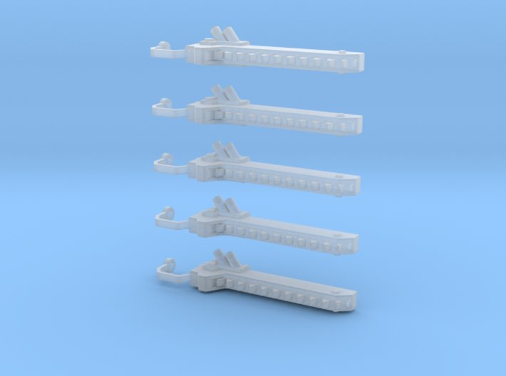 5 Chain swords (right handed) 3d printed
