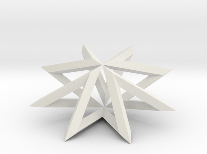 Regular Constant-torsion Polygon (++--)^4 (rotated 3d printed