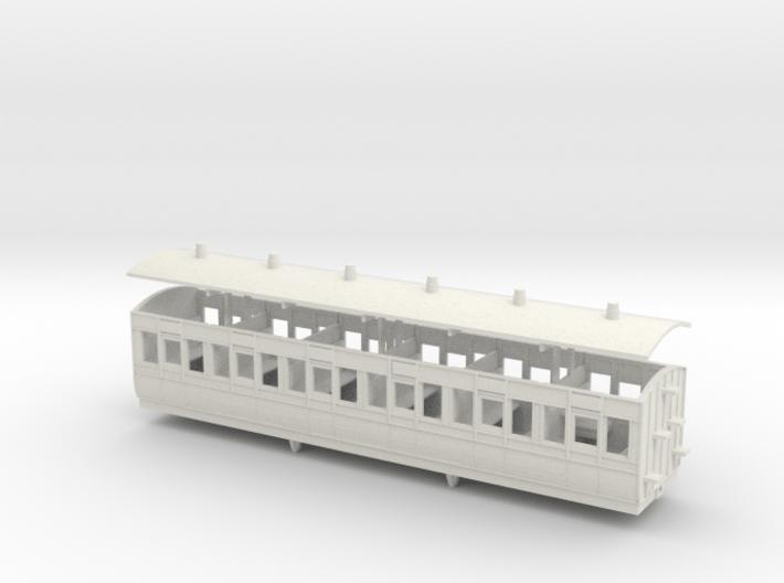 3mm scale LBER Third Class Coach print version 3d printed