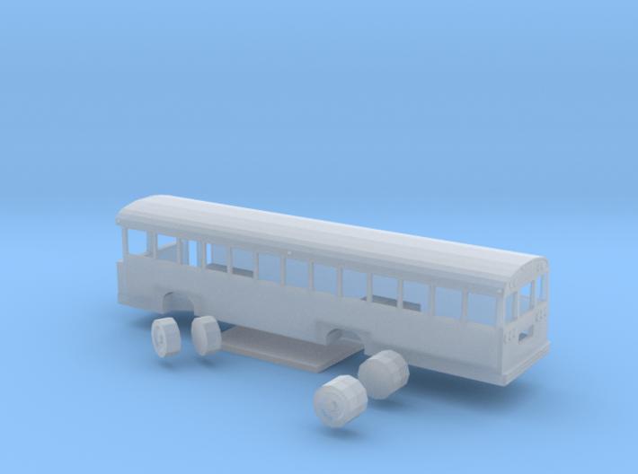 bluebird tc/2000 fe school bus 1/160 n scale 3d printed