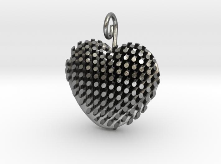 Heart Diagonal Rods V5 3d printed