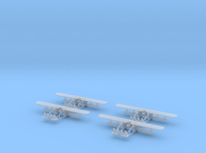 1/350 Caudron G.4 3d printed