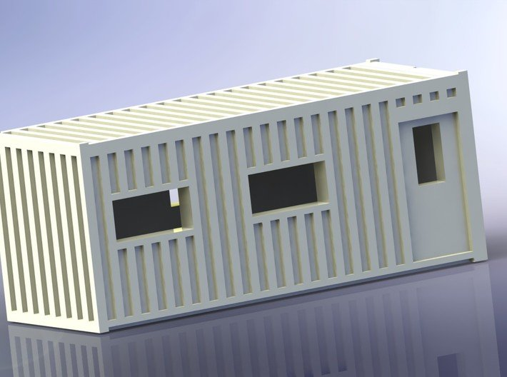 Construction Site Trucks 1 1/285 6mm 3d printed Office-Container