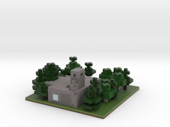 60x60 Refinery (2mm series) 3d printed