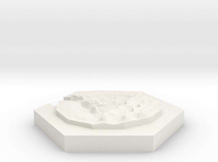 River (beach) 3d printed